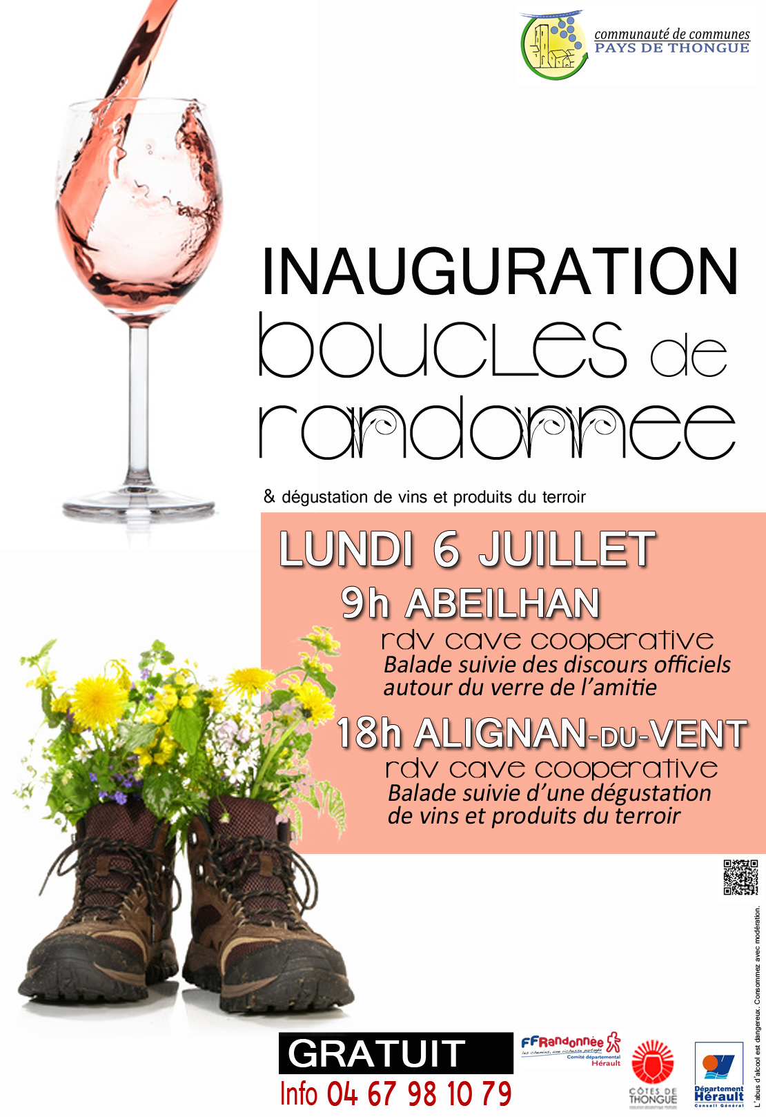 Affiche Inaug Rando CCPT juillet2015