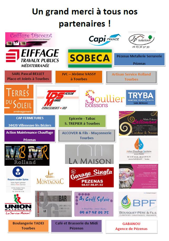 Partenaires Fête Locale 2015