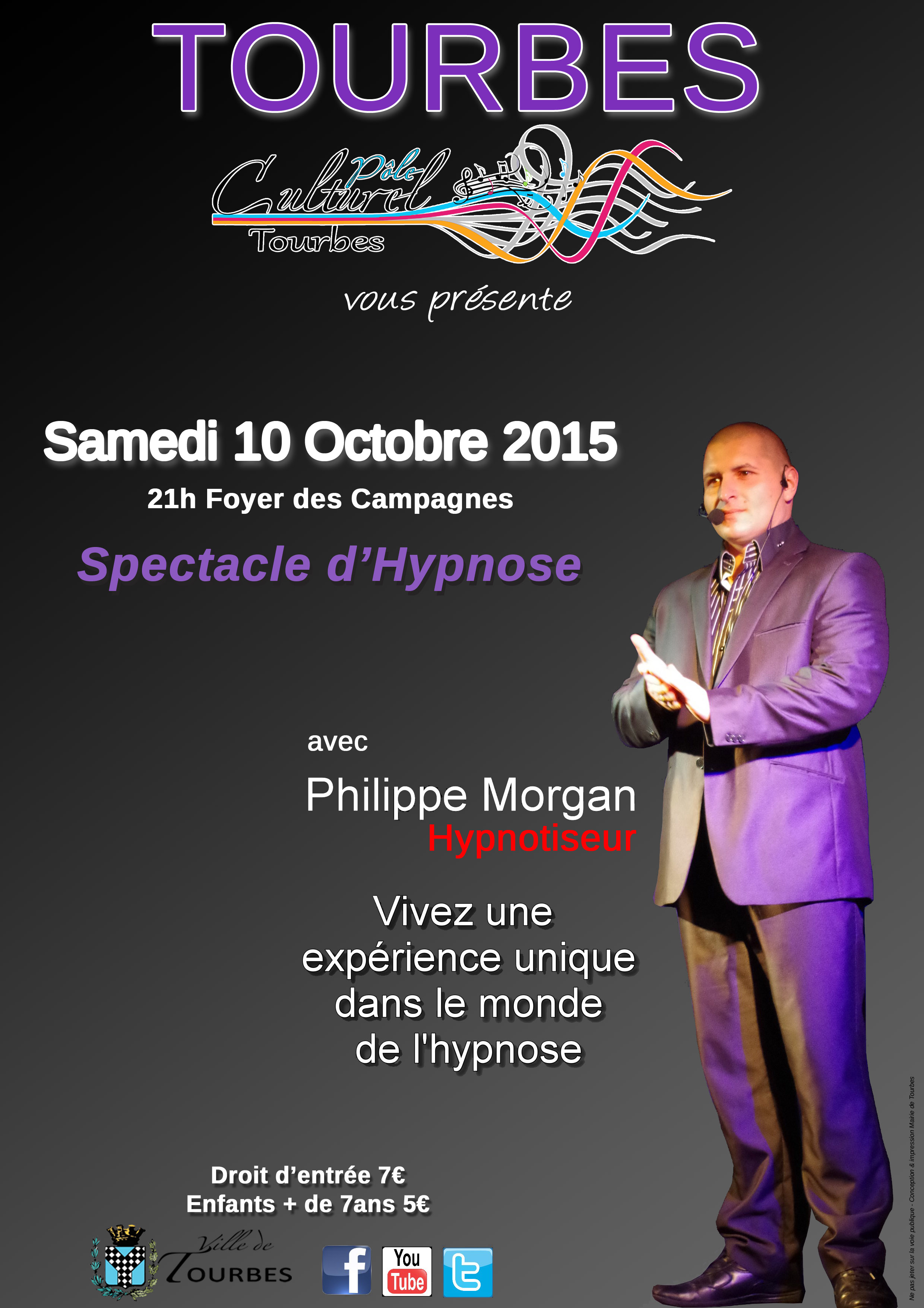 Affiche Hypnose - 10.10.15