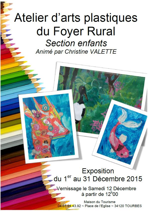Christine VALETTE Atelier enfants - Affiche