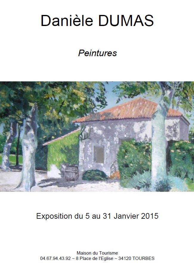 Exposition de Peintures D.DUMAS