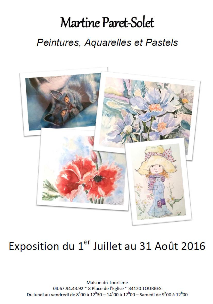 Martine PARET-SOLET_Expo Juillet Aout