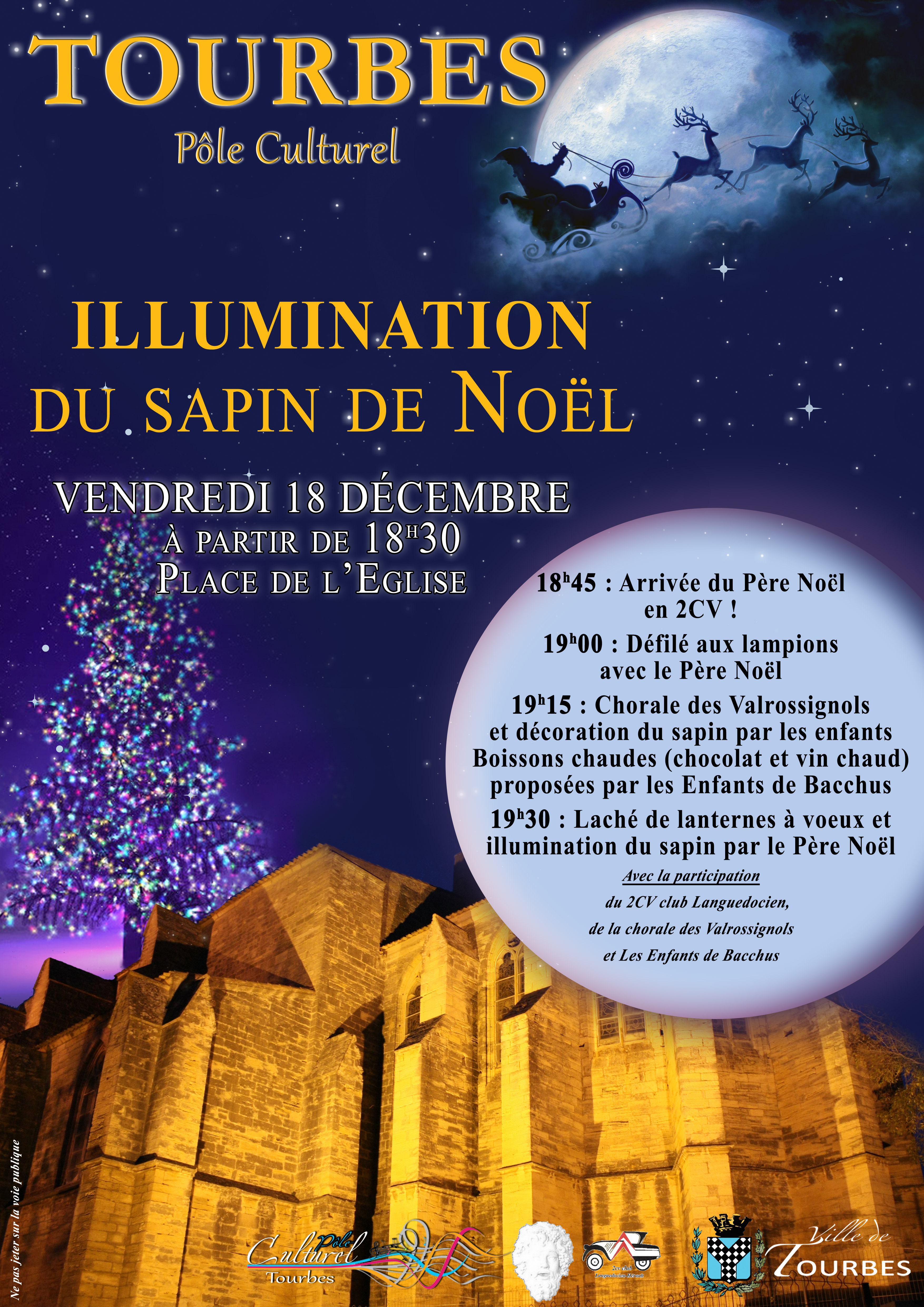 Illumination du Sapin 2015