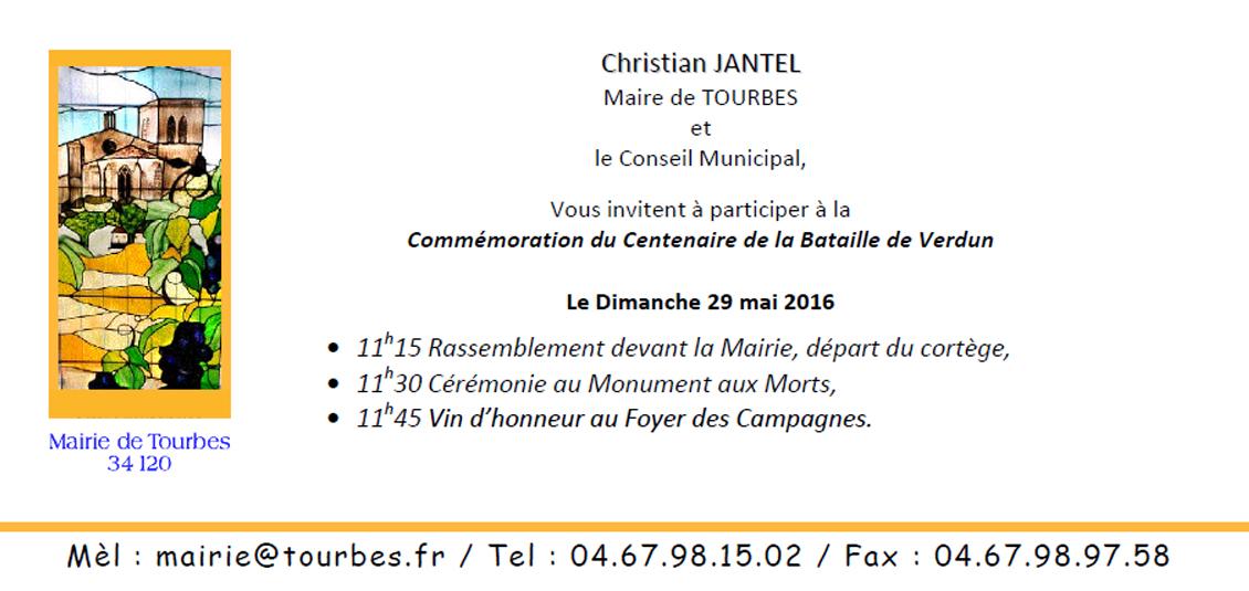 Invitation du 29 Mai 2016