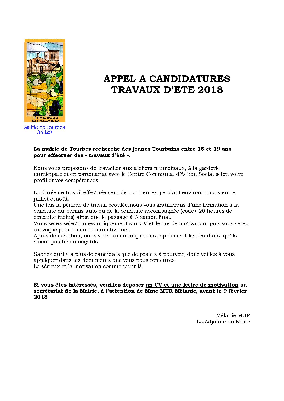 APPEL-A-CANDIDATURESété2018